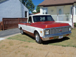1971 chevy c10 fleet side