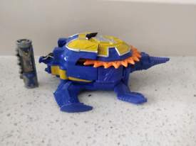 power rangers dino charge Archelon zord with charger VGC