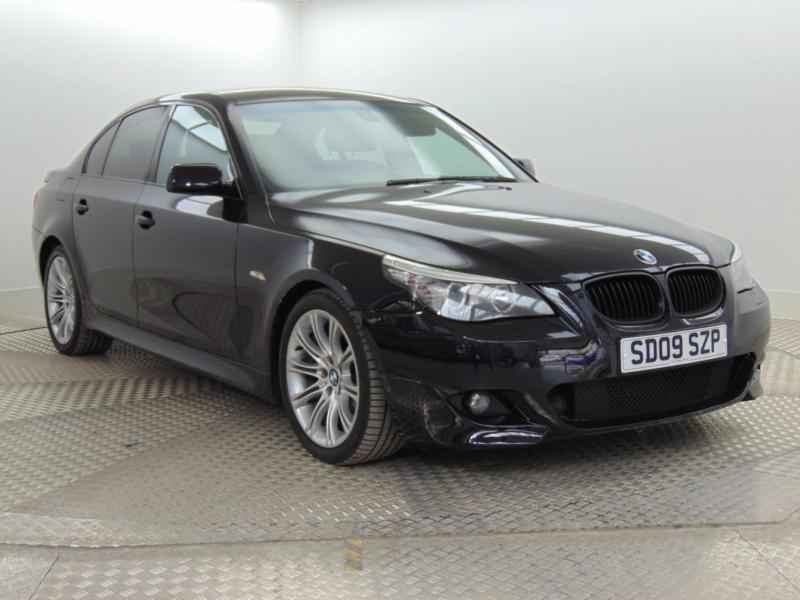 2009 bmw 5 series 520d m sport business edition diesel. Black Bedroom Furniture Sets. Home Design Ideas