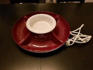 T-FAL dessert/dip warming tray