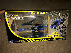 Sky Rover Stalker Helicopter - Blue