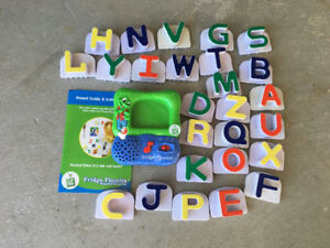 Leap Frog magnetic alphabet