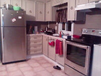 Partially Furnished 2 bedroom