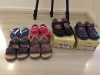 Girls shoes various (size 5.5 - 6.5)