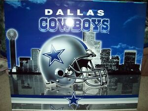 DALLAS COWBOYS METAL POSTER For Sale