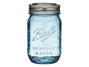 Ball-Mason-Heritage-Collection-Blue-Pint-Jars-x-12-Limited-EDITION-Flat-post