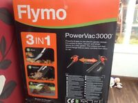 Flymo 3in 1 power vac brand new