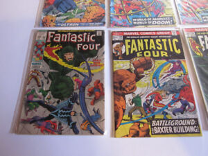 Vintage Fantastic Four comics