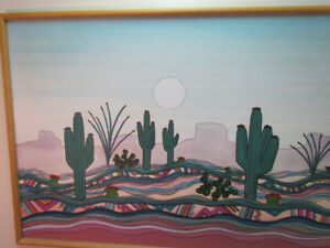 """Large Greg  Kyle-Arizona Art- Original Oil on Canvas -Painting"""