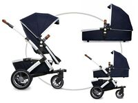 BRAND NEW JOOLZ GEO PARROT BLUE pushchair