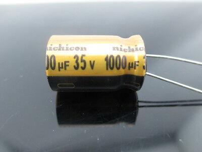 Japan 4pcs Nichicon Fw 1000uf 35v 1000mfd Audio Capacitor