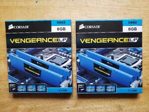 Corsair Vengeance® 8GB Dual Channel DDR3 Memory Kit, 2133 MHz