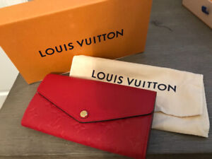 New Louis Vuitton Montaigne MM and Matching Sarah Wallet Set