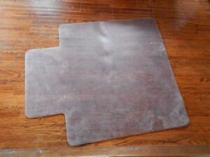 Clear Polycarbonate carpet protection mat