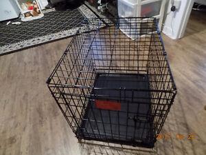 Cae pour petit ou moyen chien solide et pliable 24x18x21