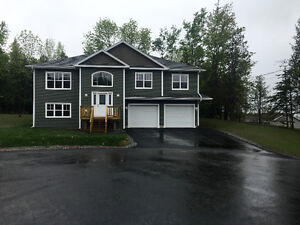 Lower level of new home in Quispamsis