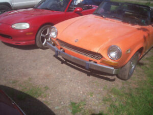 1974 Fiat Spider 123 sport convertible/Miata/Shadow/etc.