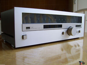 Vintage stereo equipment - SANSUI TUNER & TOSHIBA TAPE DECK