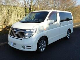 2004 Nissan Elgrand HIGHWAY STAR HIGH GRADE FRESH IMPORT 3.5 5dr