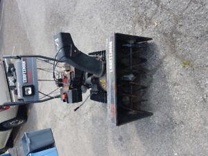 10 HP Craftsman Dual Trac Steerable Snow Blower