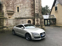 2007 Audi TT Coupe 2.0 Turbo 200 BHP FSI 2 Door Coupe Silver