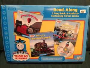 Thomas and Friends Read Along books and audio CD