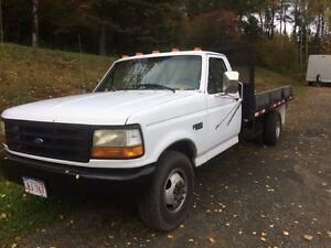 97 Ford 1ton flatbed