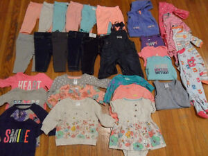 Baby girl clothes size 3 months