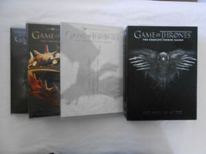 Game of Thrones Seasons 1-4 MINT Condition DVDs