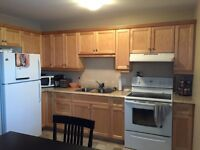 Two bedroom apartment for rent April 1, 2016