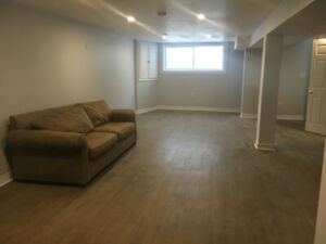SPACIOUS 1-BEDROOM LEGAL BASEMENT APARTMENT FOR RENT - OSHAWA