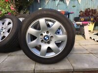 BMW alloy wheels x 4