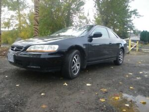2002 Honda Accord EX Leather Coupe (2 door)