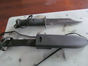 Navy Seal knife with sheath