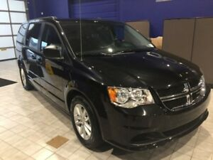 2017 Dodge Grand Caravan SXT  w/CLOTH, DVD, BACKUP CAMERA