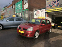 2005 RENAULT CLIO 1.2 EXTREME 3 DOOR 75 BHP ( PARTS EXCHANGE TO CLEAR )