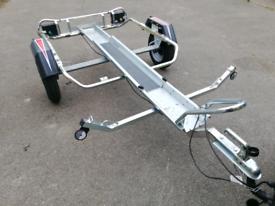 Erde MP310 motorbike trailer with ramp