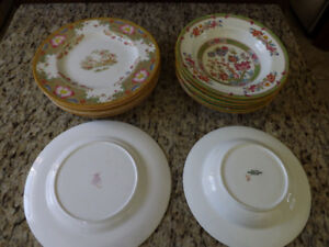 ANTIQUE CHINESE PORCELAIN DISHES.