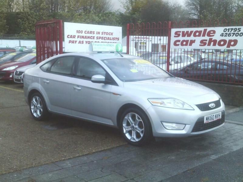 2010 60 Reg Ford Mondeo 1.8TDCi 125ps Sport 5 Door SAT-NAV,PARK AID, 6 SPEED