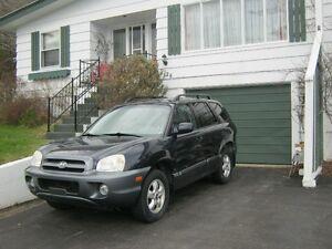 2005 Hyundai Santa Fe GL SUV, Crossover