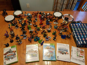 Skylander games and Figures(Xbox360 and WII)