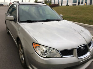 2007 Subaru Impreza 2.5 i Wagon - Sunroof, clean carproof,