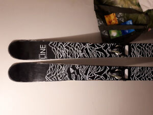 2017 Line Blend 171cm W. Salomon STH 12 bindings