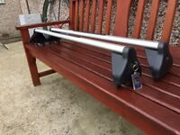 Astra roof bars with keys gen parts only £20
