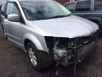 2008 - 2015 Chrysler voyager 2.8crd BREAKING ALL PARTS