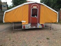 Dandy folding camper / trailer tent