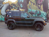 A Vendre Ou Echange 2005 Jeep Liberty Renegade