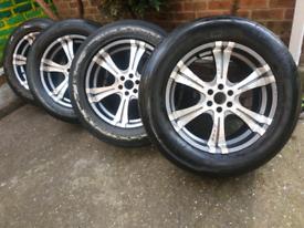 """20"""" Nissan Navara alloy wheels Mercedes x class 6 x 114.3"""