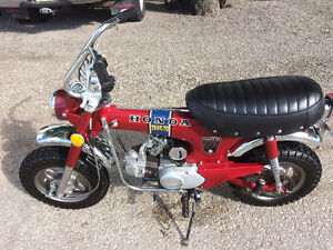 1971 HONDA CT70 AWESOME CONDITION LOW MILES RUNS LIKE A TOP