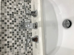 Two brand new faucets